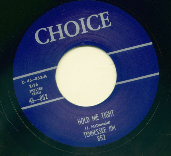 Hold Me Tight - My Baby, She's Rockin' (7inch, 45rpm)