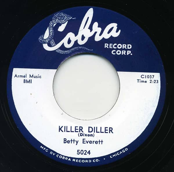 Killer Diller - Ain't Gonna Cry 7inch, 45rpm