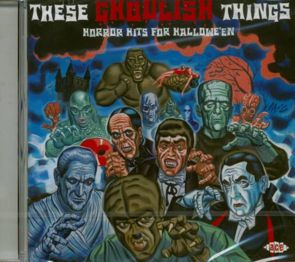 These Ghoulish Things - Horror Hits (CD)