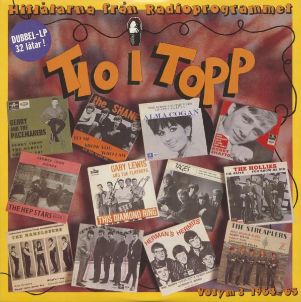 Tio I Topp Vol.3 - 1964-65 (2-LP)