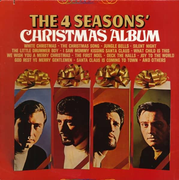 The 4 Seasons' Christmas Album (LP, Cut-Out)