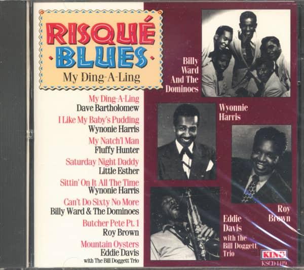 Risqué Blues - My Ding-A-Ling (CD)