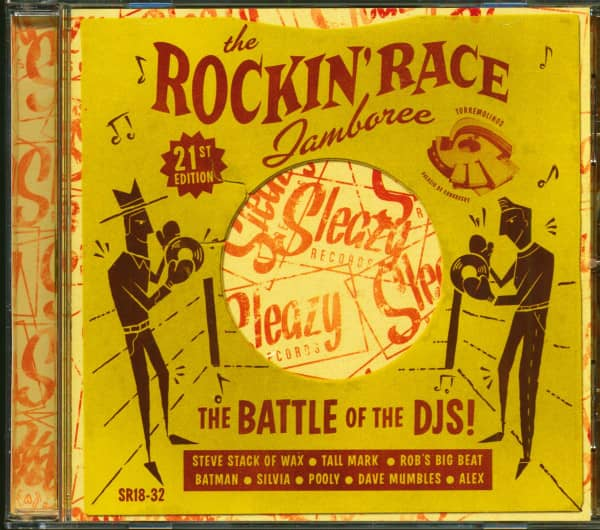 The Rockin' Race Jamboree 2015 - 21st Edition - The Battle Of The DJ's! (CD)