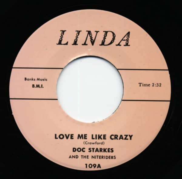 Love Me Like Crazy b-w Rockin' To SChool 7inch, 45rpm