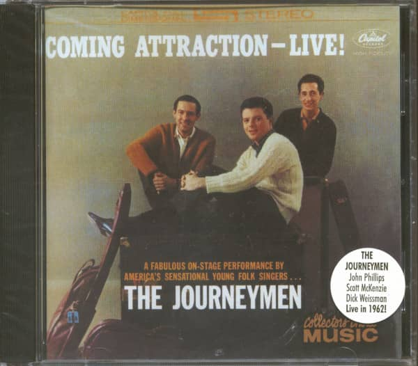 Coming Attraction - Live! (CD)