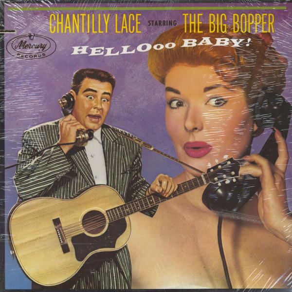 Chantilly Lace Starring The Big Bopper (LP)