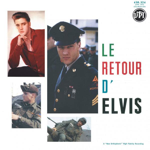 Le Retour D'Elvis - His Hand In Mine (2-LP, 180g Vinyl, Ltd., Colored Vinyl)