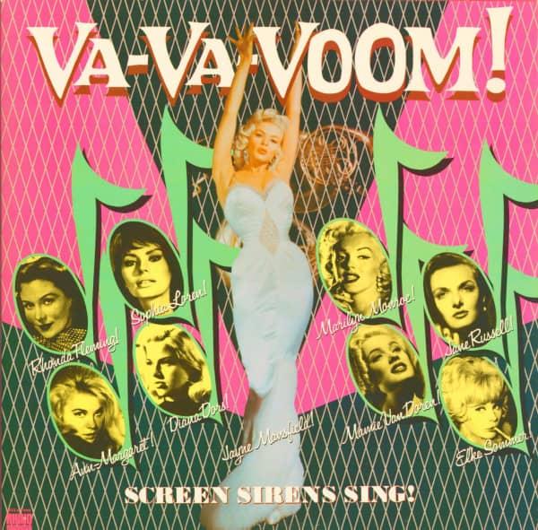 Va-Va-Voom - Screen Sirens Sing (Vinyl 2-LP)
