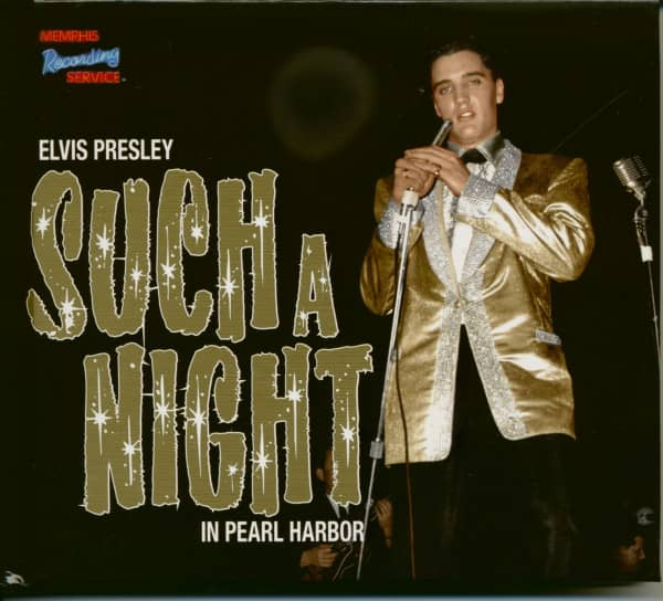 Elvis Presley Such A Night In Pearl Harbor - March 1961 (CD-Book Deluxe Set)