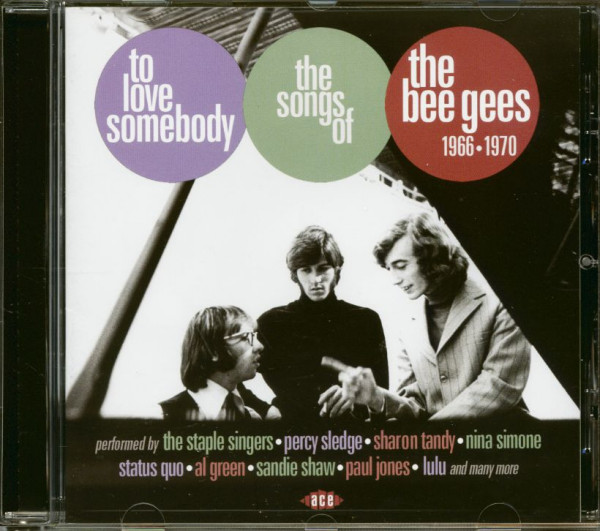 To Love Somebody - The Songs Of The Bee Gees 1966-1970 (CD)