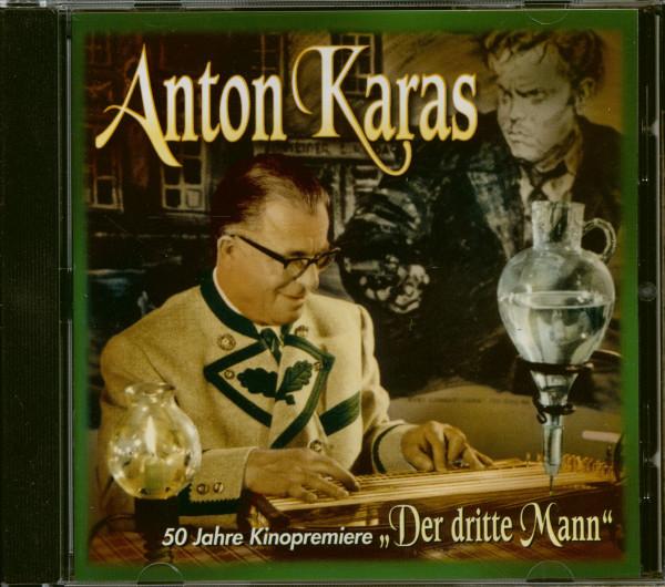 50 Jahre Kinopremiere - Der Dritte Mann - Soundtrack (CD)