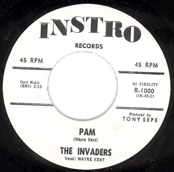 Pam b-w Invasion 7inch, 45rpm