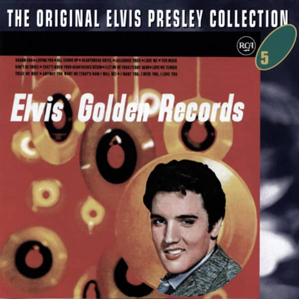 Elvis' Golden Records 1 - Elvis Coll. #5