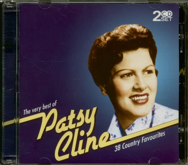 The Very Best Of Patsy Cline - 38 Country Favourites (2-CD)