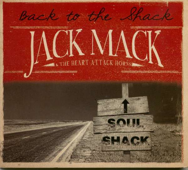 Back To The Shack (CD)