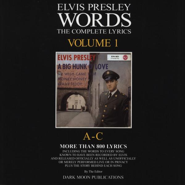 Words Vol.01 - The Complete Lyrics A-C