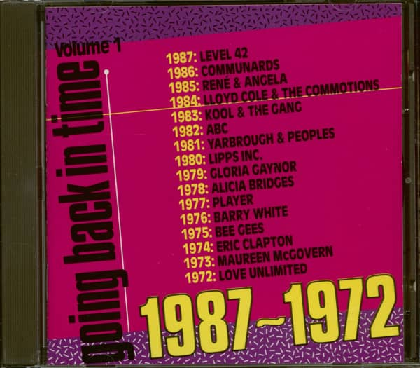 Going Back In Time - Vol. 1 - 1987-1972 (CD)
