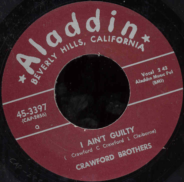 I Ain't Guilty - It Feels Good 7inch, 45rpm