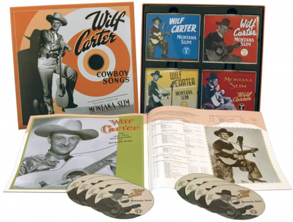 Cowboy Songs (8-CD Deluxe Box Set)