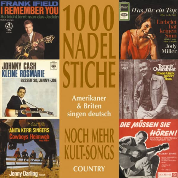 Vol.02, Country - Amerikaner & Briten singen deutsch (CD)