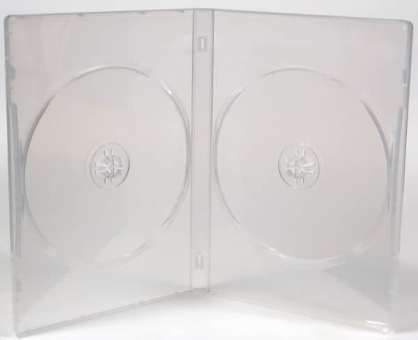 Double DVD case - clear