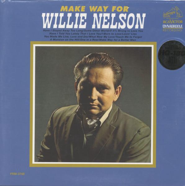 Make Way For Willie Nelson (LP, 180g Vinyl, Ltd.)