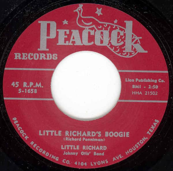 Little Richard's Boogie - Directly From.. 7inch, 45rpm