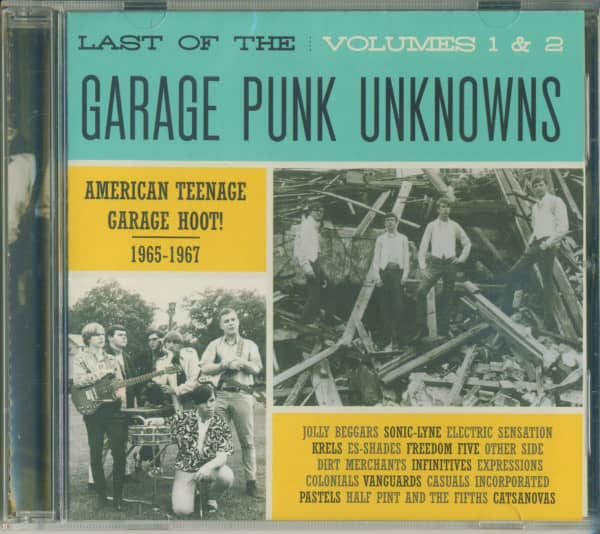 Last Of The Garage Punk Unknowns Vol.1 & 2 (CD)