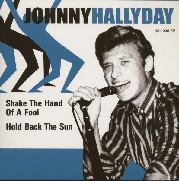 Johnny Hallyday (7inch, EP, 45rpm, PS, SC, Blue Vinyl, Ltd.)