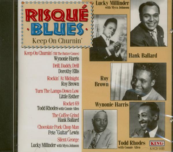 Risqué Blues - Keep On Churnin' (CD)