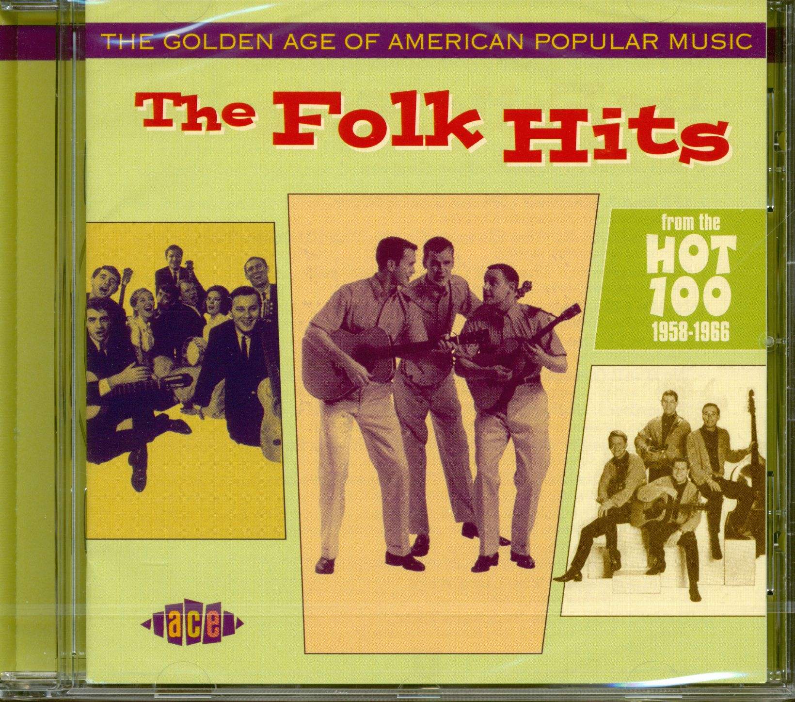 Various Golden Age Of American Popular Music - The Folk Hits (CD)