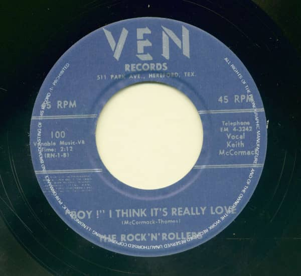For You - Boy I Think It's Really (7inch, 45rpm)