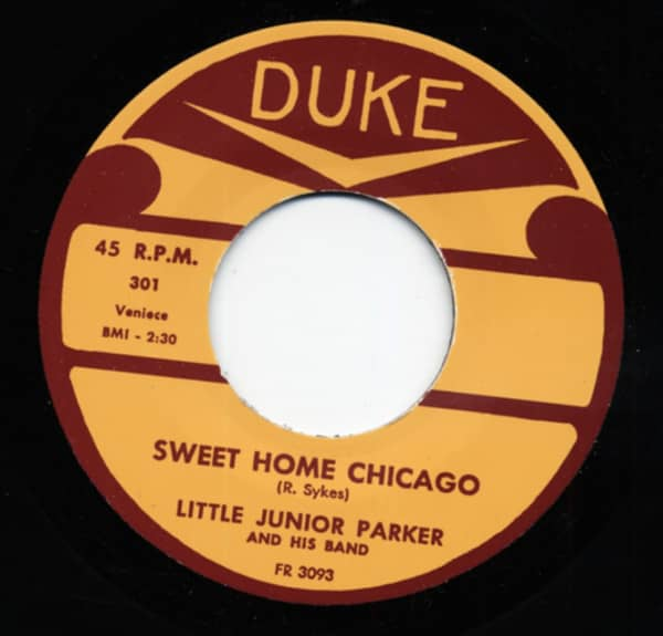 Sweet Home Chicago b-w Sometimes 7inch, 45rpm