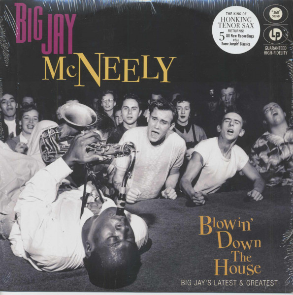 Blowin' Down The House - Big Jay's Latest & Greatest (LP)
