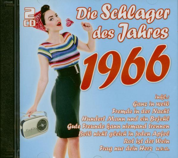 Die Schlager des Jahres 1966 (2-CD)