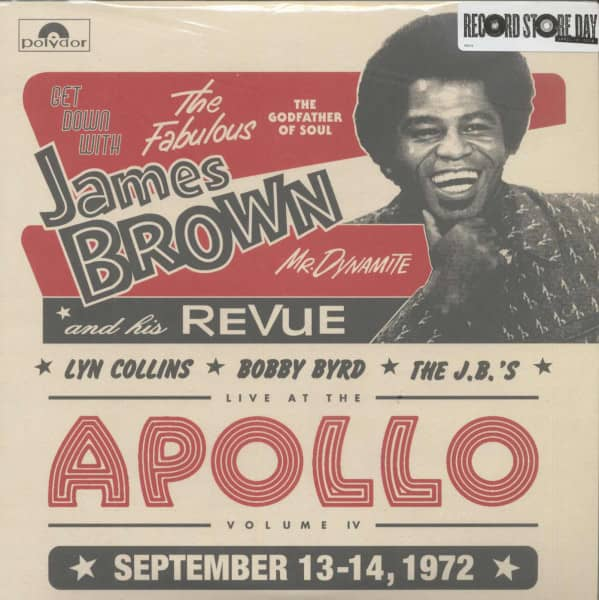 Get Down With James Brown - Live At The Apollo, Vol. IV (2-LP, 180g Vinyl)
