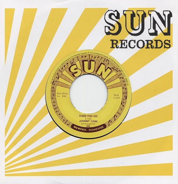 Train Of Love - There You Go 7inch, 45rpm, CS (SUN 258)