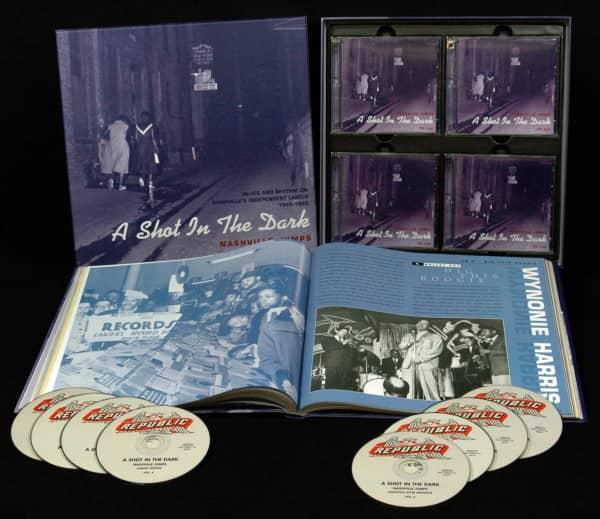 Nashville Jumps, Blues & Rhythm 1945-1955( 8-CD Deluxe Box Set)