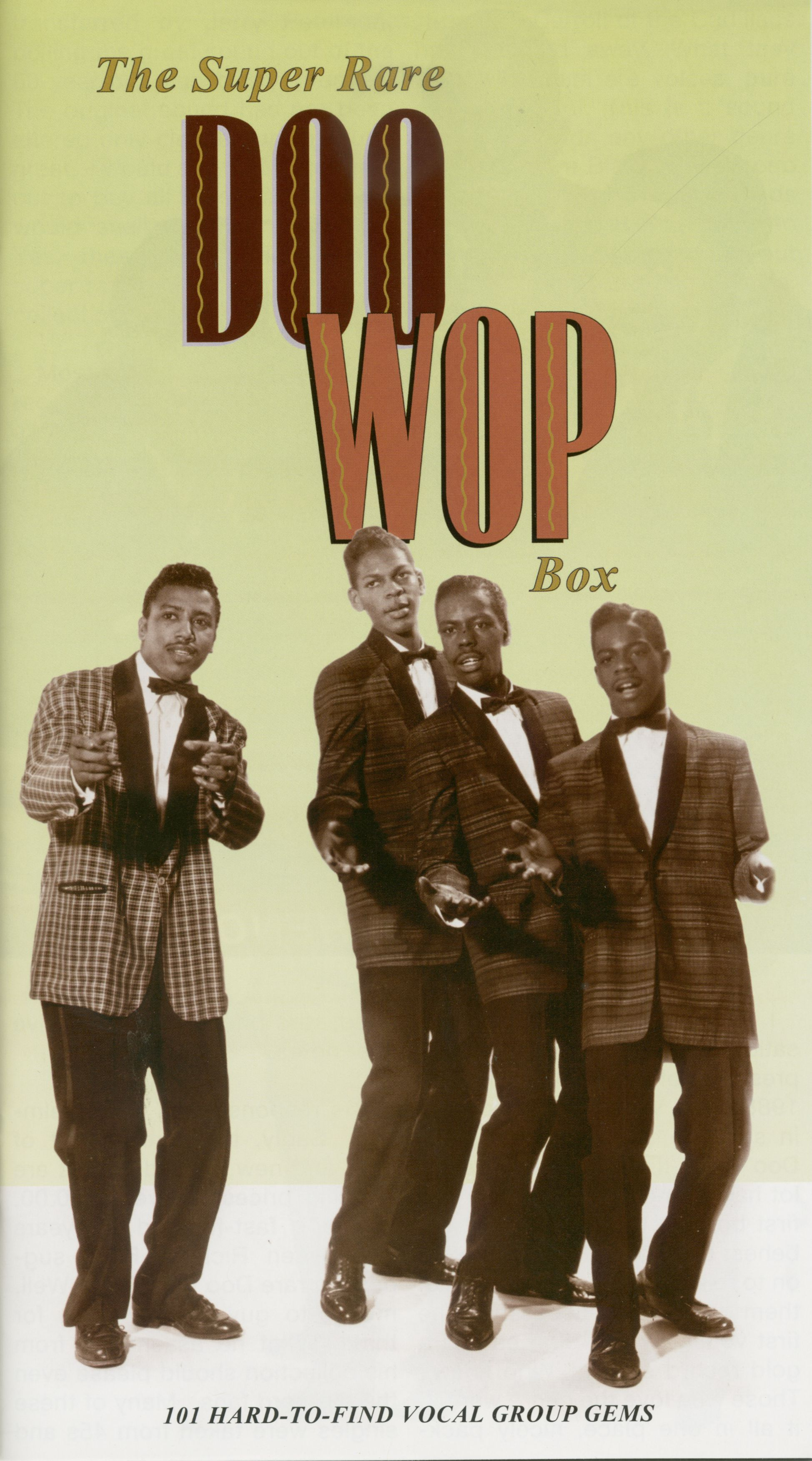 Various Super Rare Doo-Wop Box (5-CD)