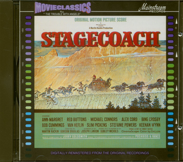 Stagecoach &ampamp; The Trouble With Angels - Soundtrack (CD)