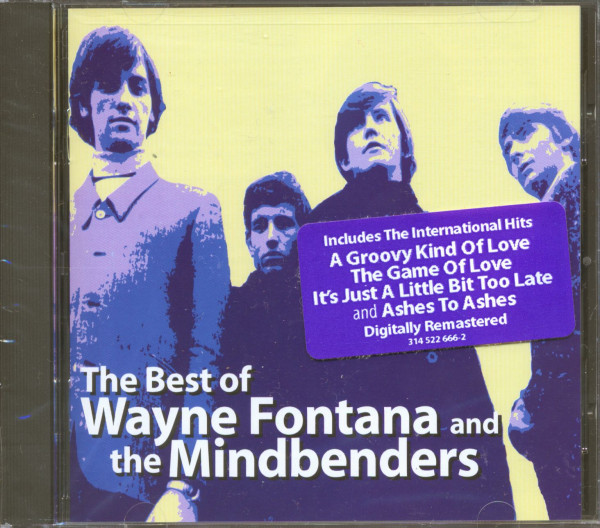 The Best Of Wayne Fontana And The Mindbenders (CD, Cut-Out)