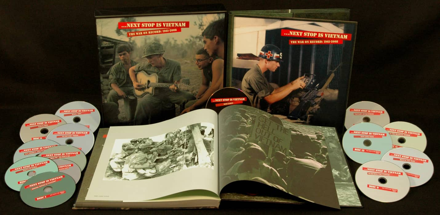 Various - History Box set: Next Stop Is Vietnam 1961-2008 (13-CD Deluxe Box  Set) - Bear Family Records